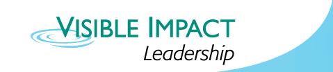 Visible Impact Leadership