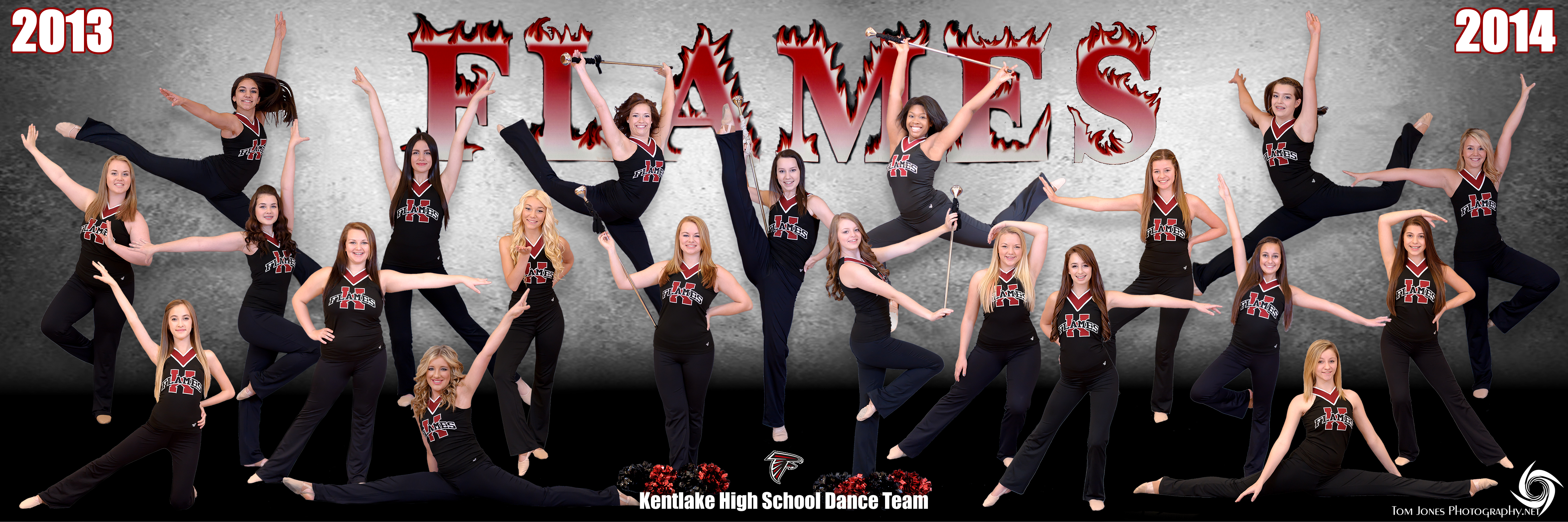 2013-2014 Flames Dance Team