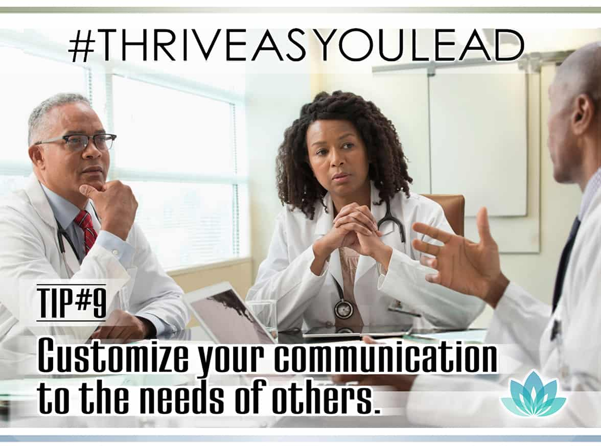 Listen deeply and openly to hear what others are saying to become a better communicator