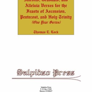 Cover for Introits Graduals and Alleluia Verses for Asc Pent Trin