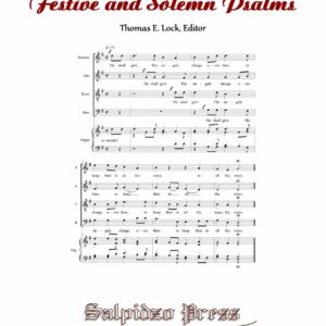 Select Psalms - Cover