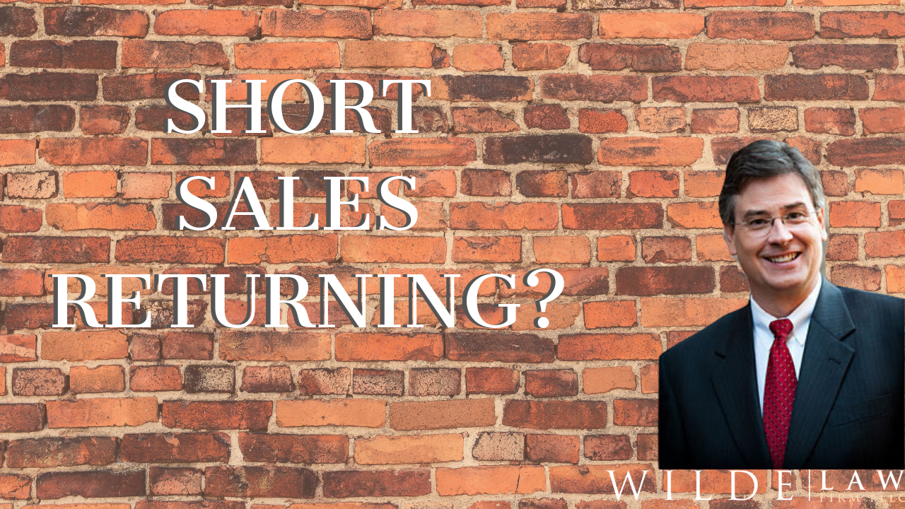Real Estate Short Sales in North Carolina   Steve Wilde The Wilde Law Firm