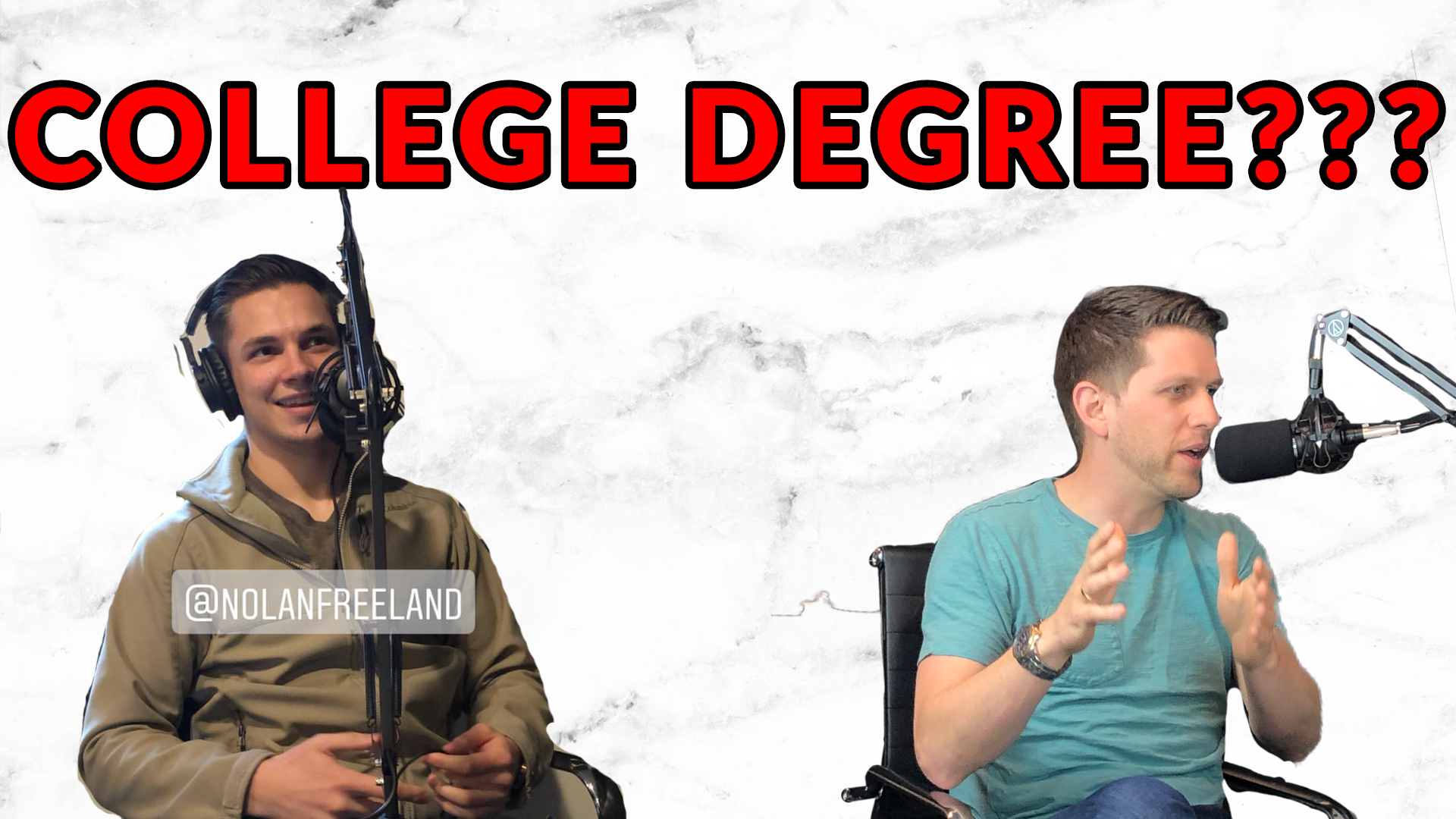 DO YOU NEED A COLLEGE DEGREE TO BE SUCCESSFUL? | AREN 96
