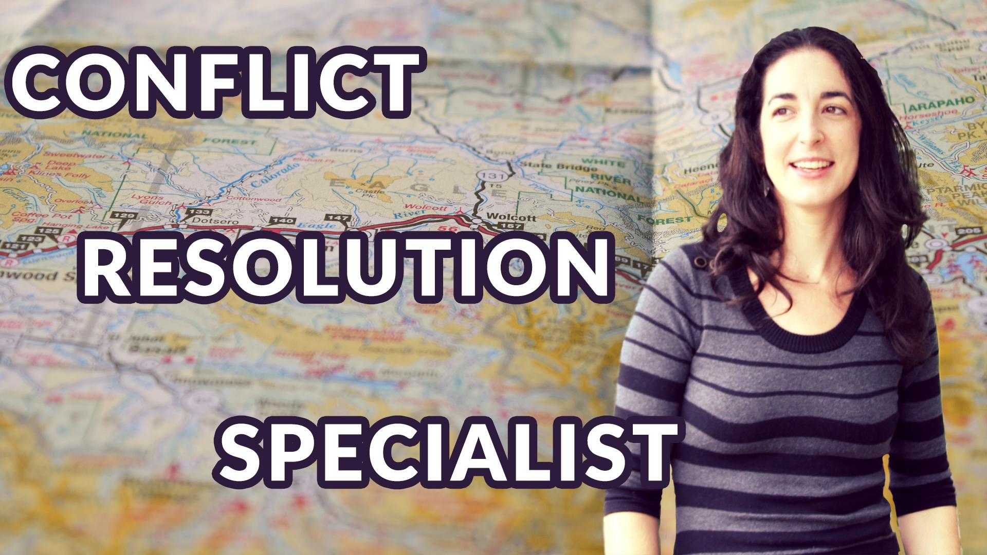 Conflict Resolution Specialist Robin Funsten