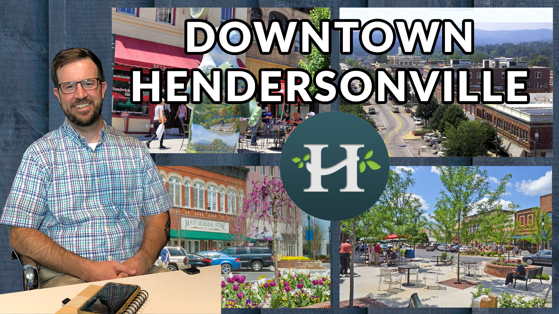 Downtown Hendersonville NC