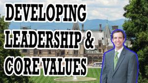 LEADERSHIP, COMPANY CULTURE, & CORE VALUES | AREN 115