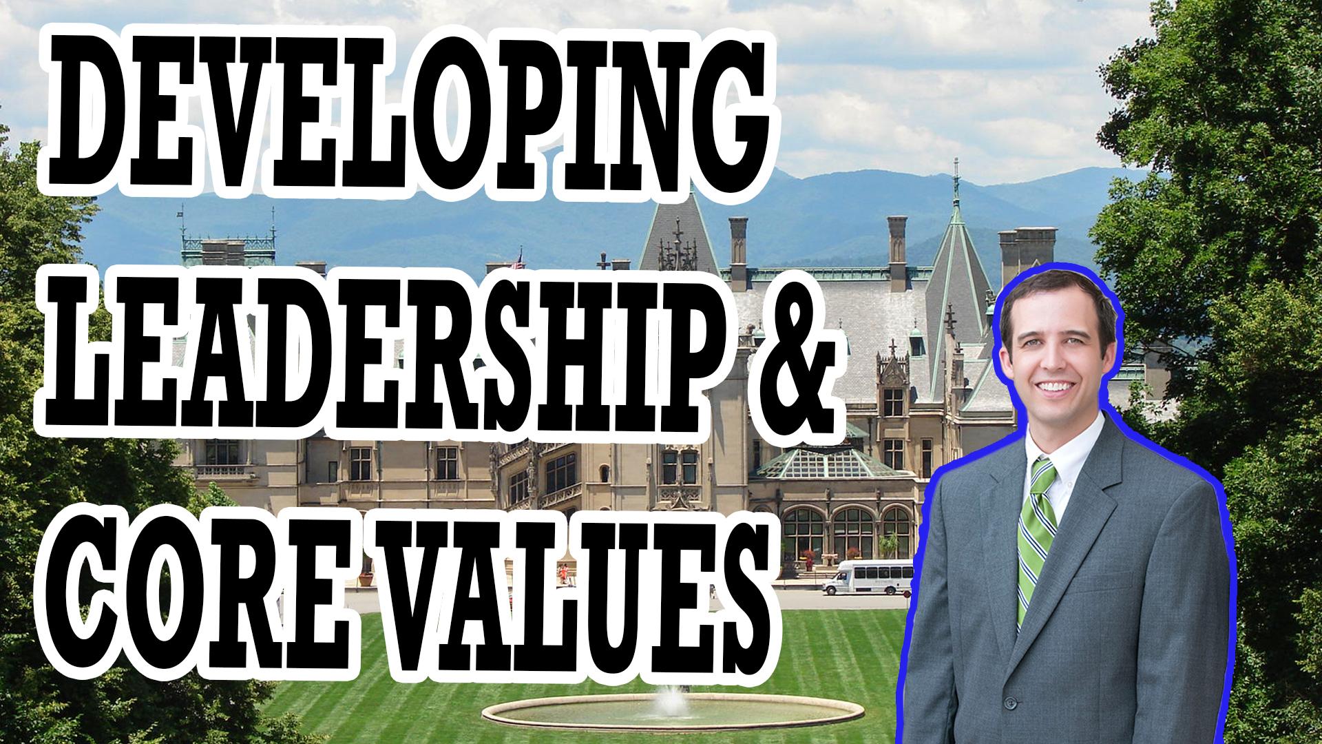 LEADERSHIP, COMPANY CULTURE, & CORE VALUES   AREN 115
