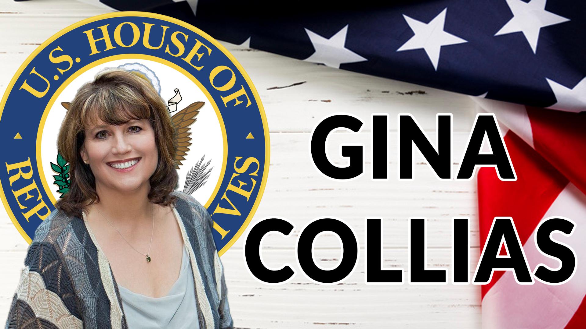 GINA COLLIAS FOR US HOUSE OF REPRESENTATIVES   AREN 146