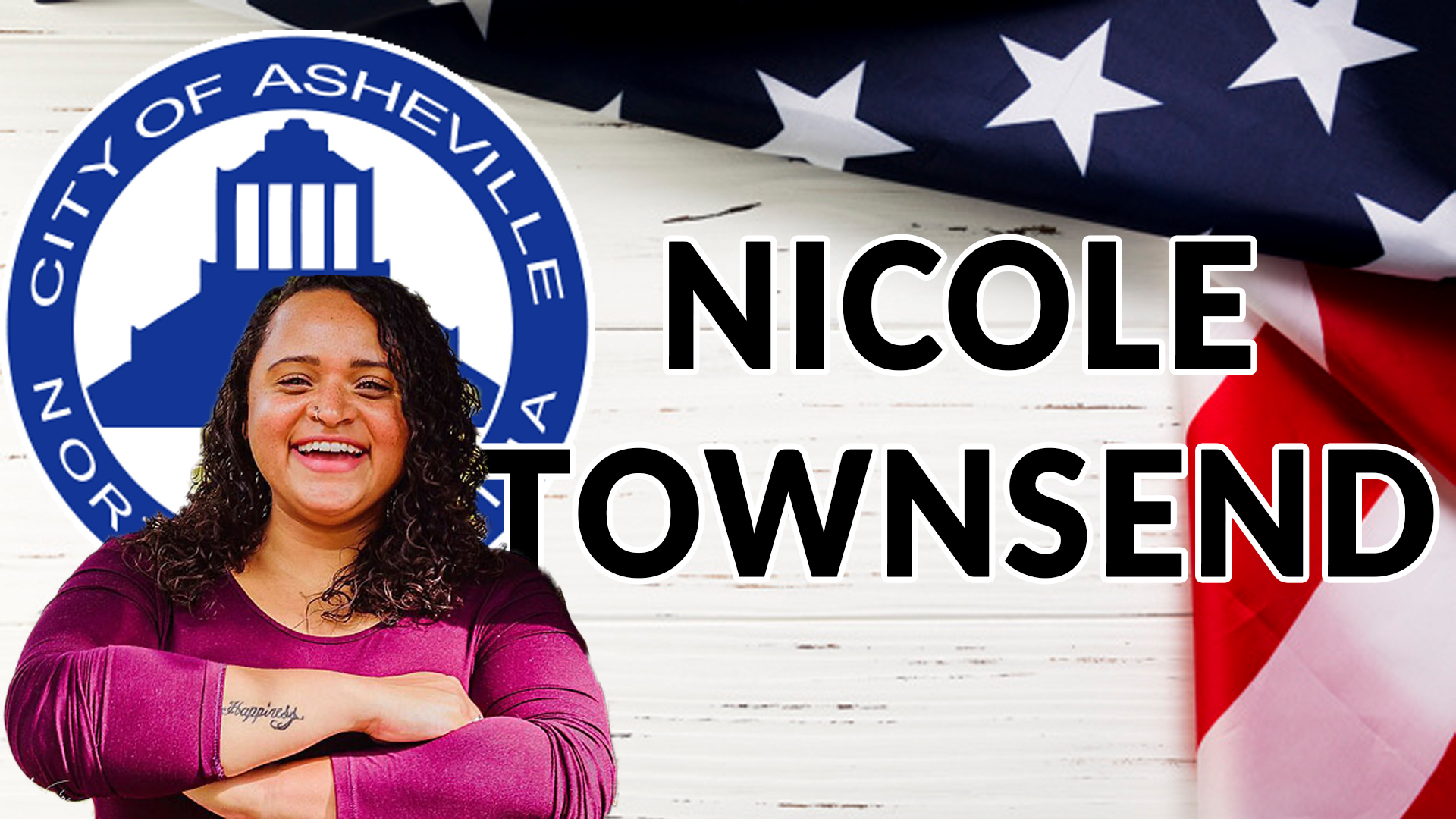Nicole Townsend, Asheville City Council Candidate