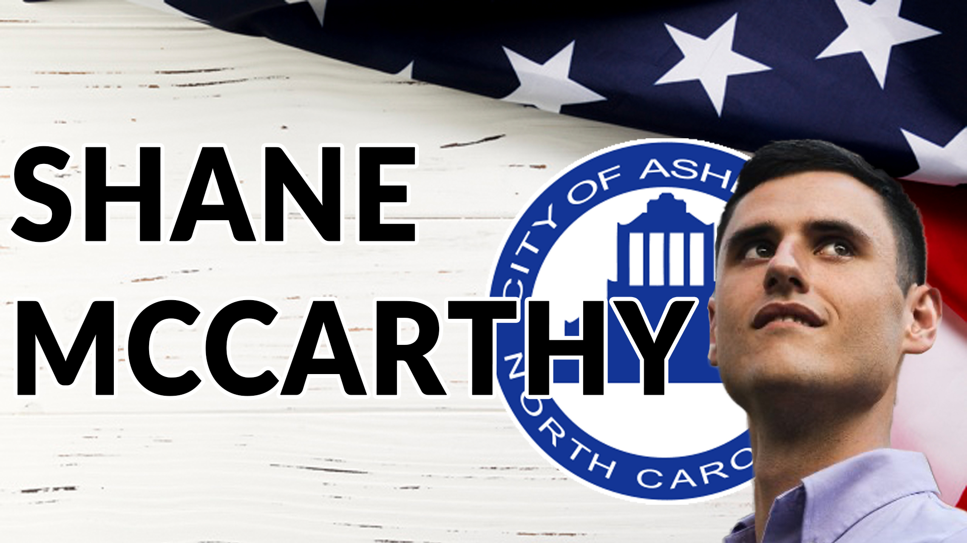 Shane McCarthy, Asheville City Council Candidate