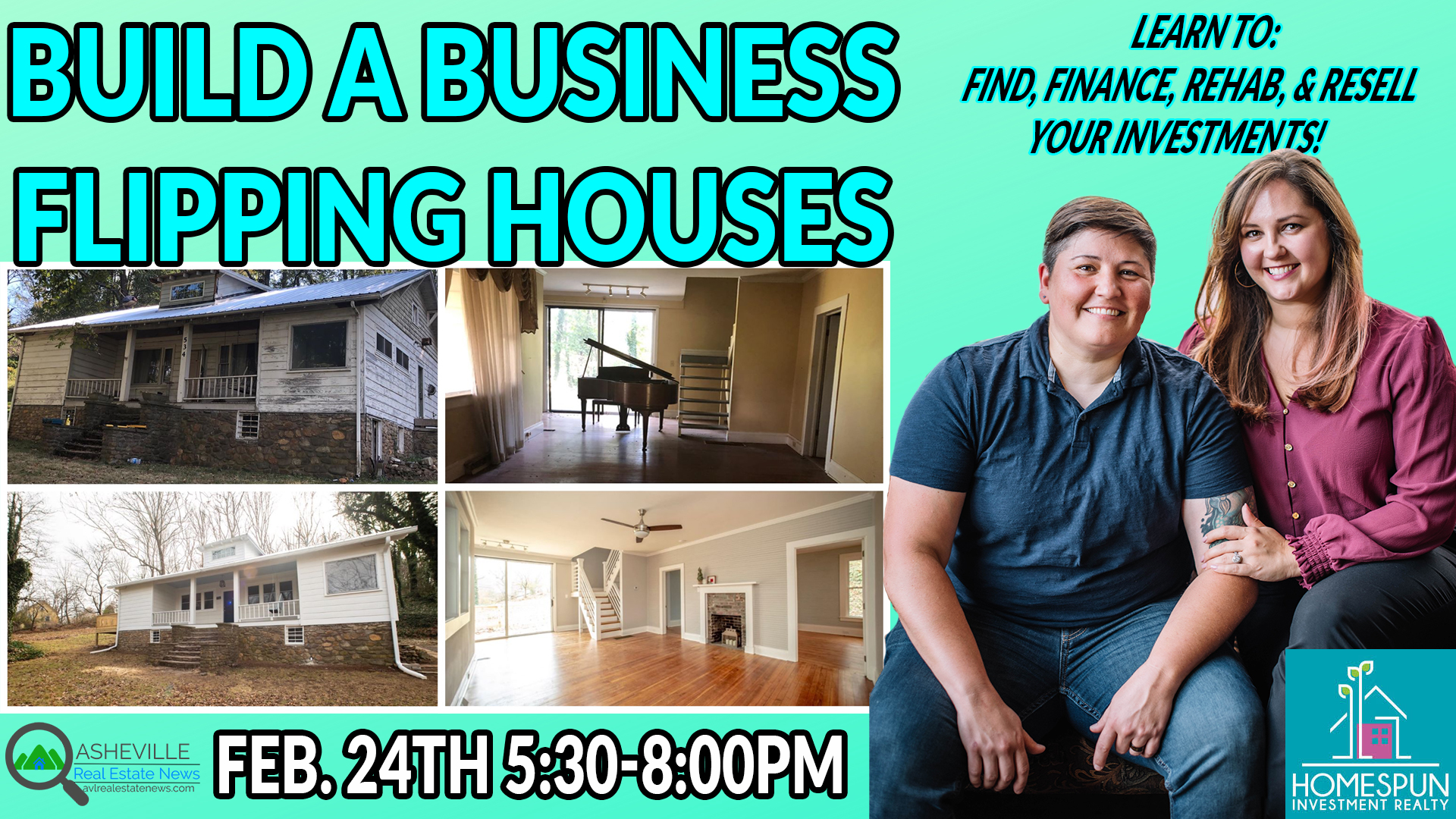 Build A Business Flipping Homes