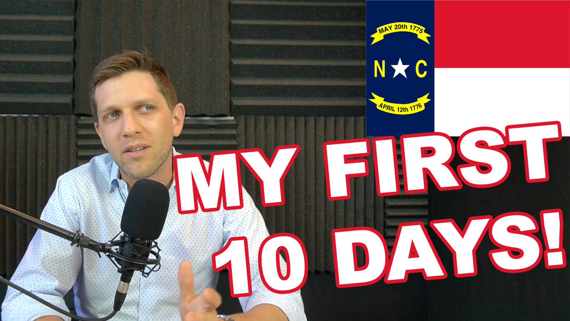 182. My First 10 Days as a Licensed NC Real Estate Broker (New Series)