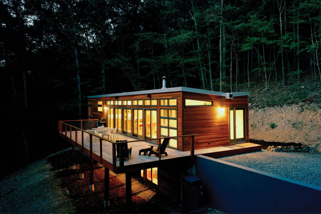 res4-resolution-4-architecture-modern-modular-home-prefab-house-brown-bar-exterior-night