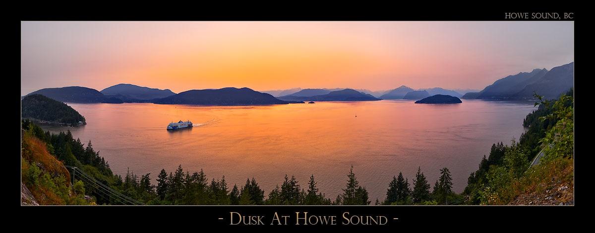Dusk At Howe Sound