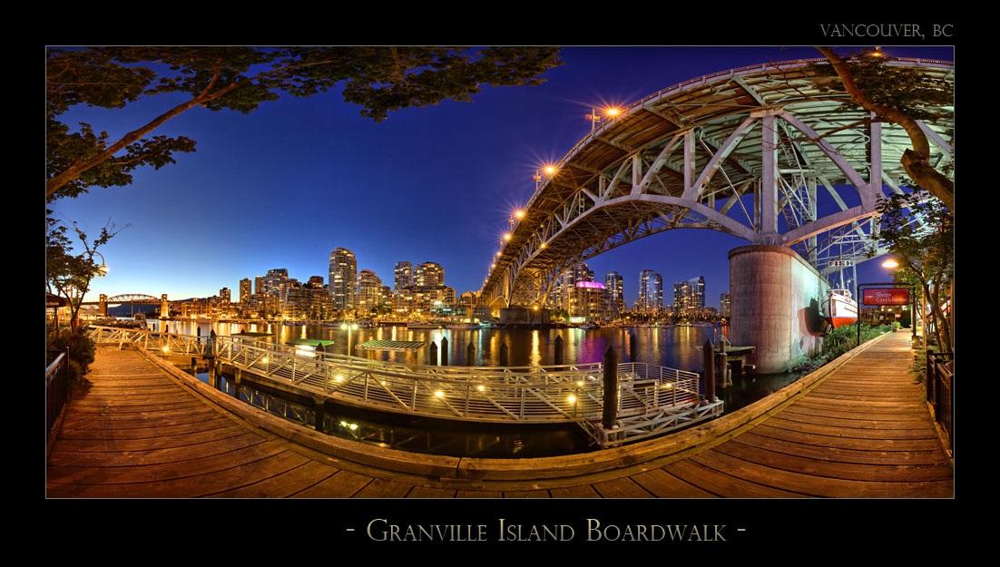 Granville Island Boardwalk - 6045