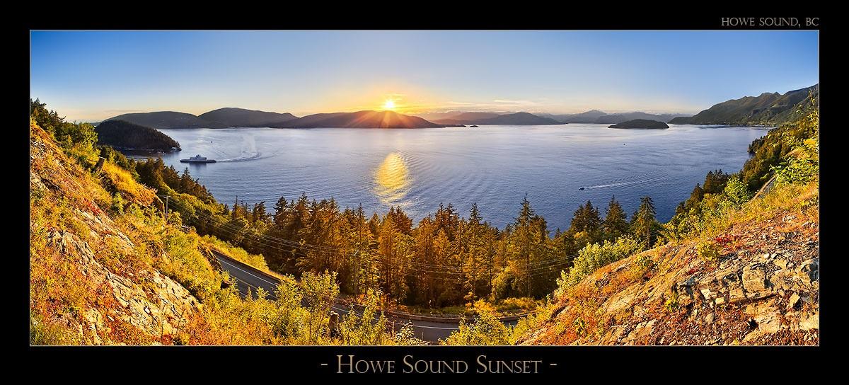 Howe Sound Sunset