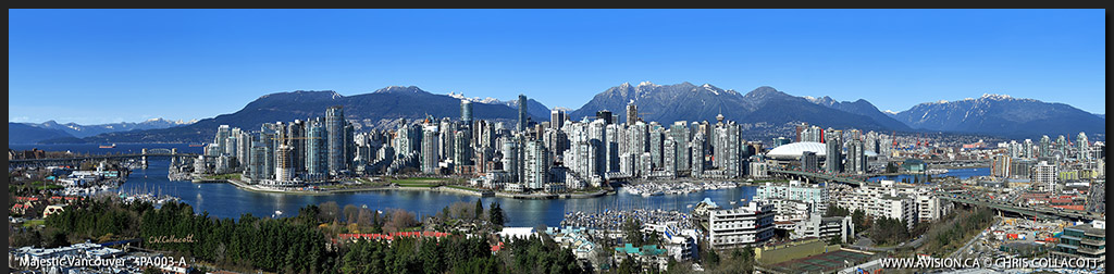 PA003-Majestic-Vancouver-Skyline-False-Creek-BC-Canada-Downtown-City-Panoramic-Panorama-Chris-Collacott-avision.ca