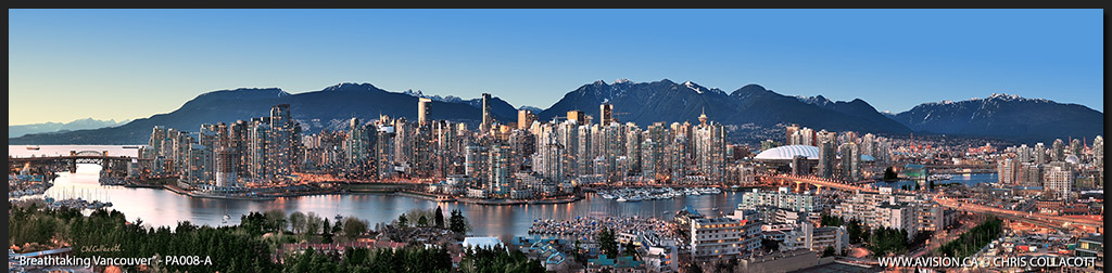 PA008-Breathtaking-Vancouver-Skyline-False-Creek-BC-Canada-Downtown-City-Panoramic-Panorama-Chris-Collacott-avision.ca