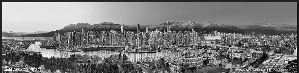 PA302-Bold-Vancouver-Skyline-False-Creek-BC-Canada-Downtown-City-Panoramic-Panorama-Chris-Collacott-avision.ca