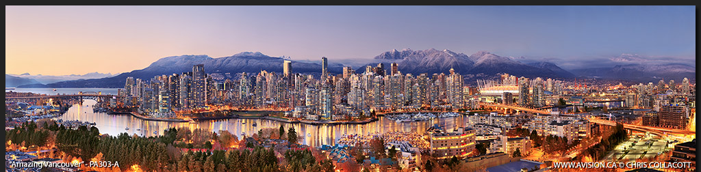 PA303-Amazing-Vancouver-Skyline-False-Creek-BC-Canada-Downtown-City-Panoramic-Panorama-Chris-Collacott-avision.ca