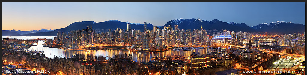 PA312-Electric-Vancouver-Skyline-False-Creek-BC-Canada-Downtown-City-Panoramic-Panorama-Chris-Collacott-avision.ca