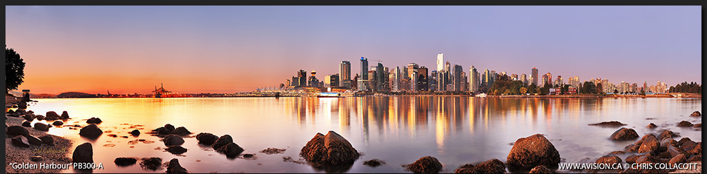 PB300-Golden-Harbour-Coal-Harbour-Vancouver-Skyline-Panoramic-Panorama-Chris-Collacott-avision.ca