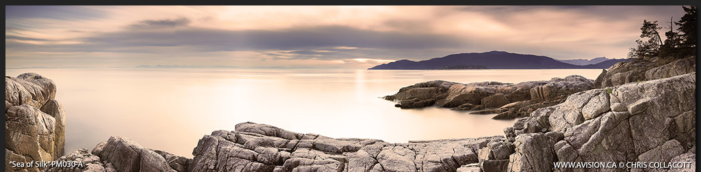 PM030-Sea-of-Silk-Lighthouse-Park-West-Vancouver-SunsetBC-Canada-Panoramic-Panorama-Chris-Collacott-avision.ca