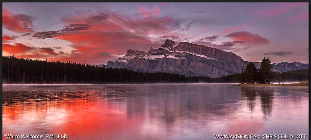 PM130-B-Warm-Welcome-Two-Jack-Lake-Mount-Rundle-Banff-National-Park-Alberta-Canada-Chris-Collacott copy