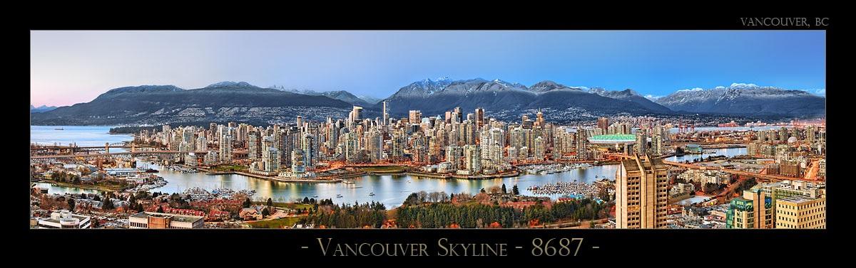 Vancouver Skyline - 8687