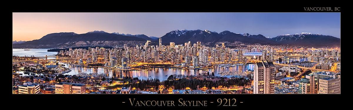 Vancouver Skyline - 9212