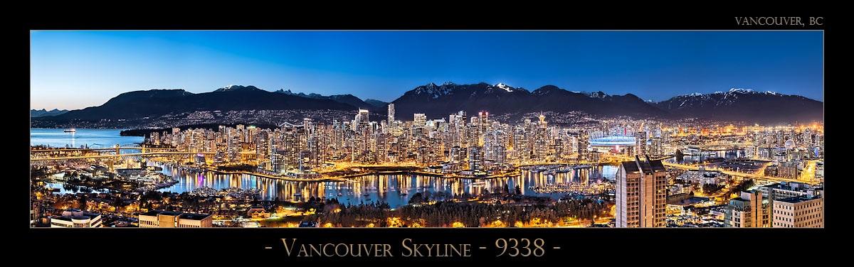 Vancouver Skyline - 9338