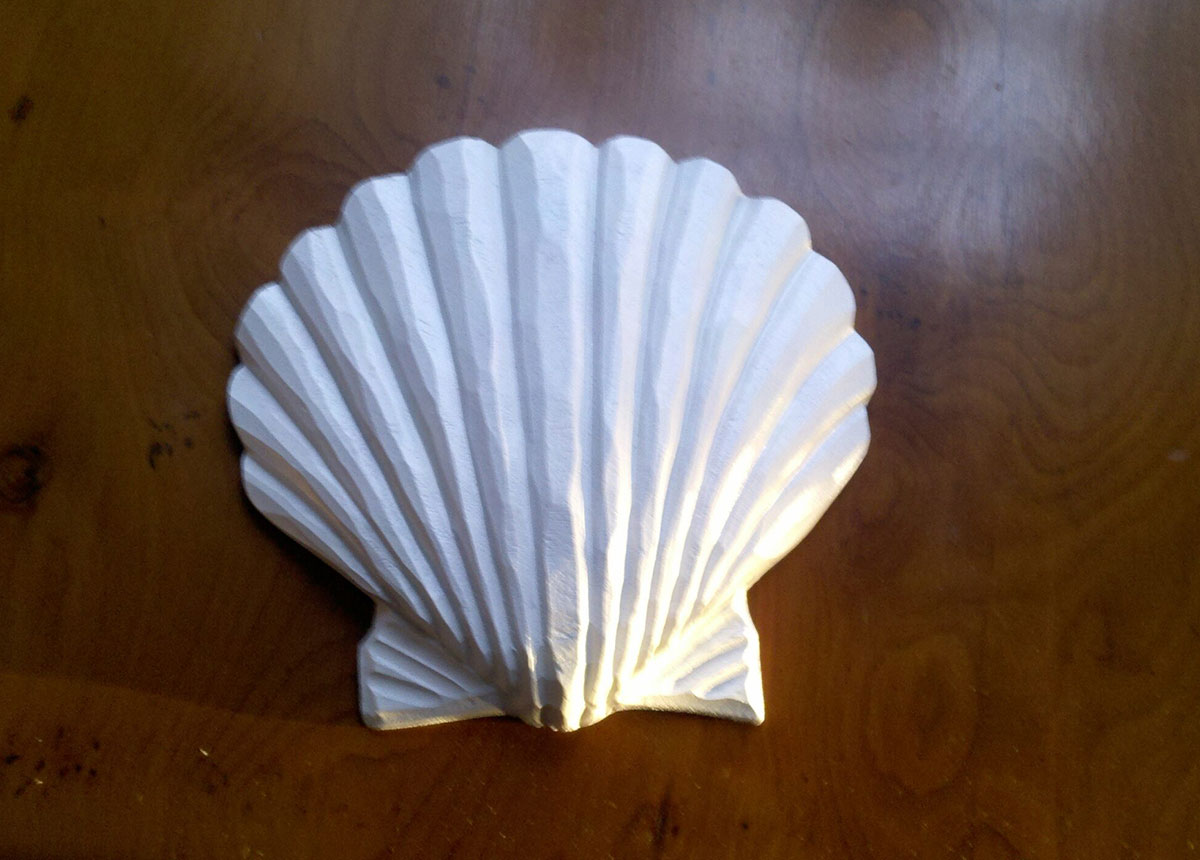 scallop carving