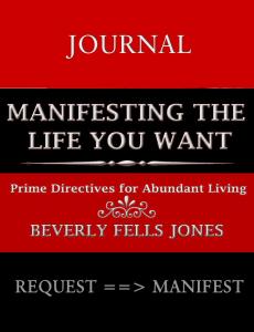 Manifesting Journal