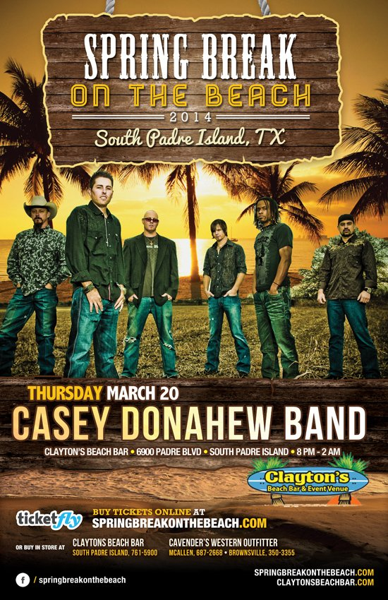 casey donahew south padre island flyer