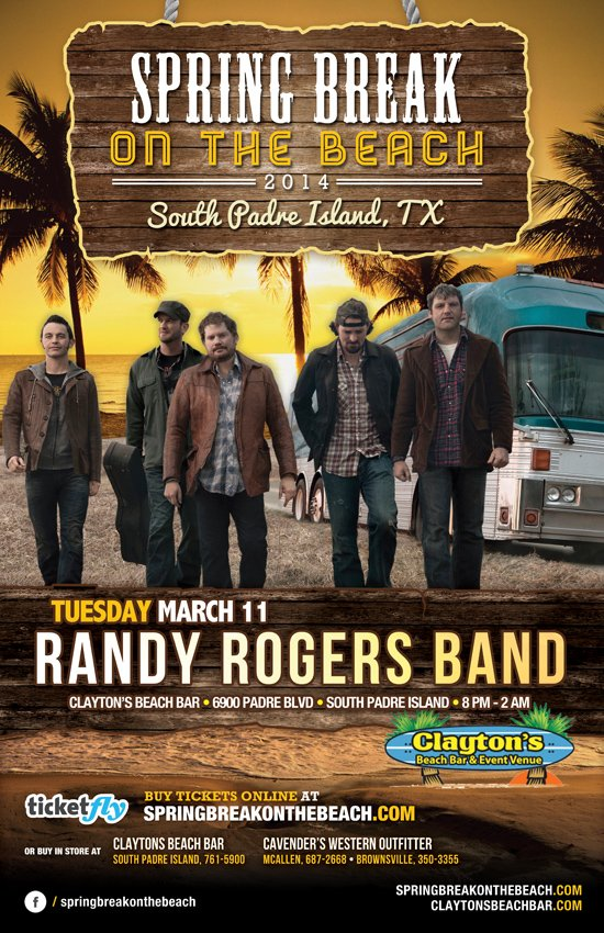 randy rogers south padre island flyer