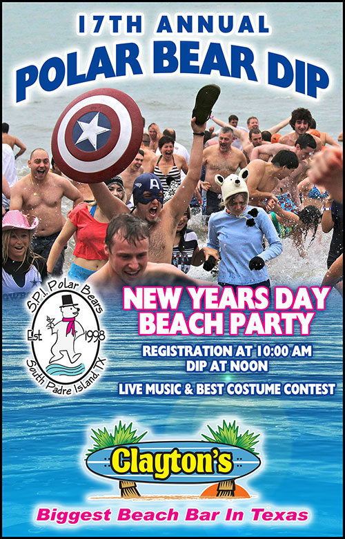 South Padre Island Polar Bear Dip 2015