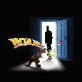 E2028 T rex Projector & Room Guard silhouette roar