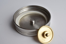 Replacement Water Bottle Lid - USS Lid - Stainless Steel