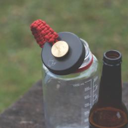 Veital Designs Nighthawk Lid Nalgene Bottle Opener