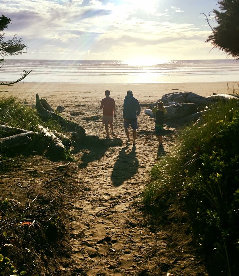 Wickaninnish Beach at best ucluelet vacation rental