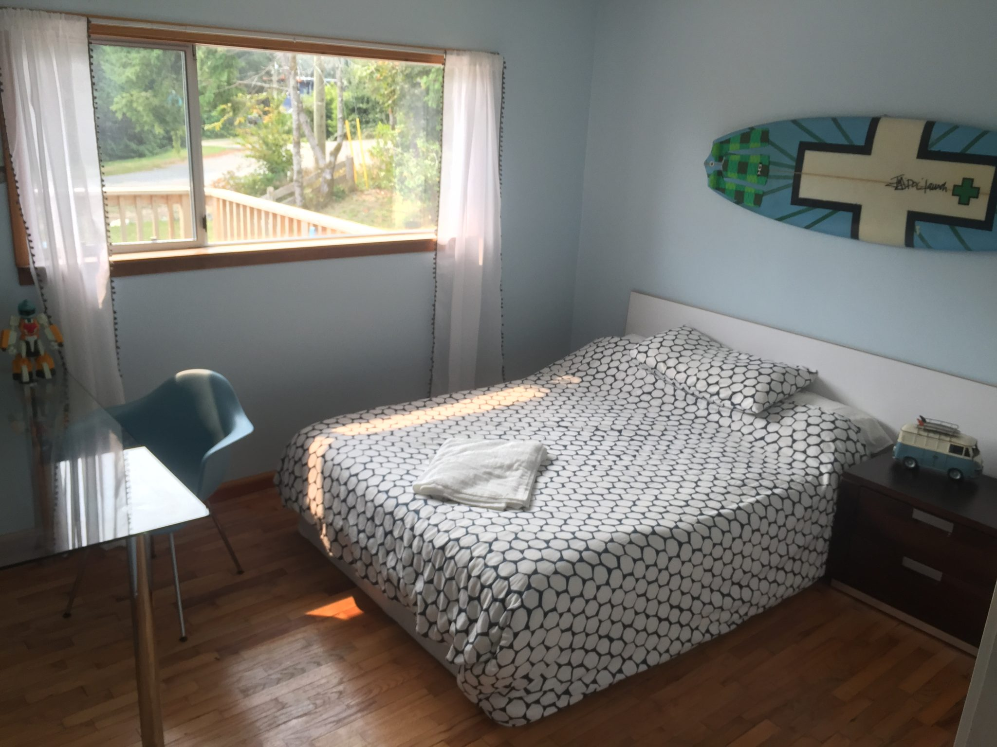 Blue Room at best ucluelet vacation rental