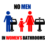 Campaign For Houston - No Men in Women's Bathrooms