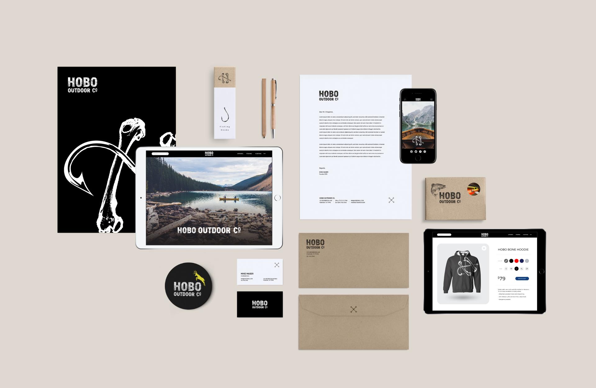 Hobo Outdoor Co. | Branding | The Underground Design Studio