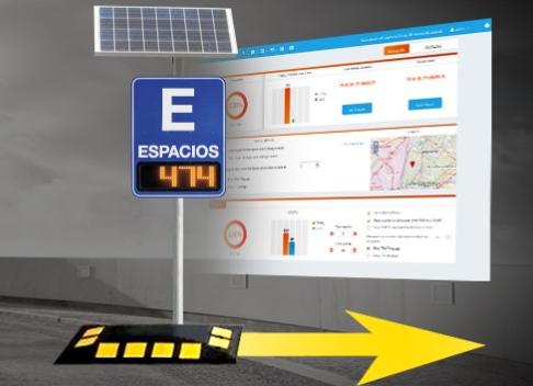estacionamiento fácil y accesible, OpenSpace, Parking Logix, sistema de conteo de vehículos para estacionamiento