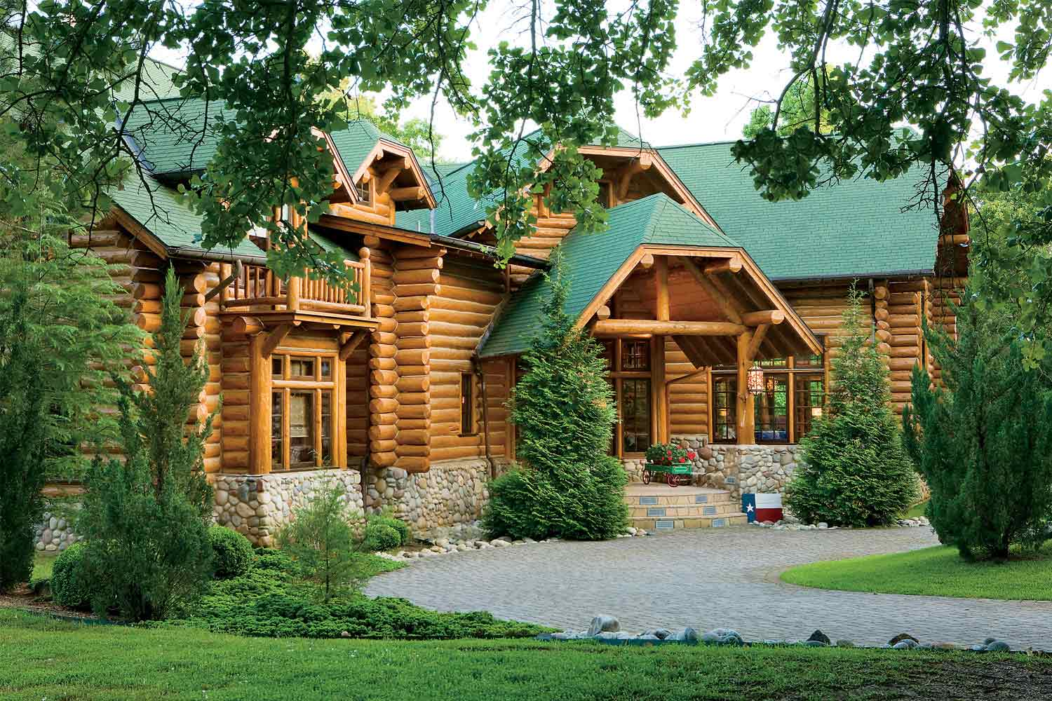 Texas Log Home
