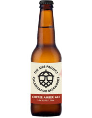 Coffee Amber Ale craft beer - The Side Project Kalangadoo