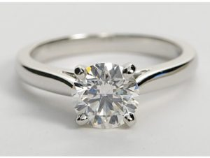 $4,929 1 Ct Round Diamond Solitaire | Engagement Ring Voyeur