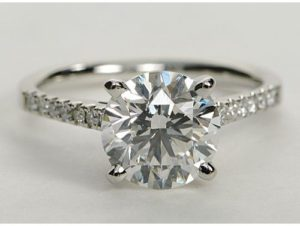 $22,010 2.0 Ct Round in Pave Setting | Engagement Ring Voyeur