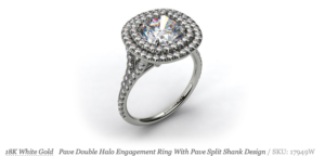 3 New Unique Halo Setting from James Allen | Engagement Ring Voyeur