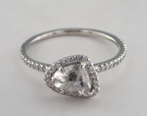 Diamond in the Rough - A Unique Engagement Ring | Engagement Ring Voyeur